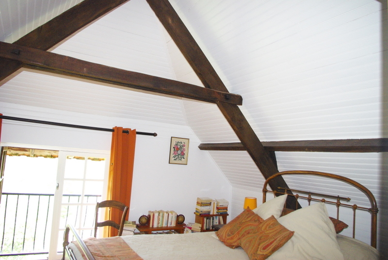 Chambres en enfilade a l\'etage « Maison quercynoise typique avec ...