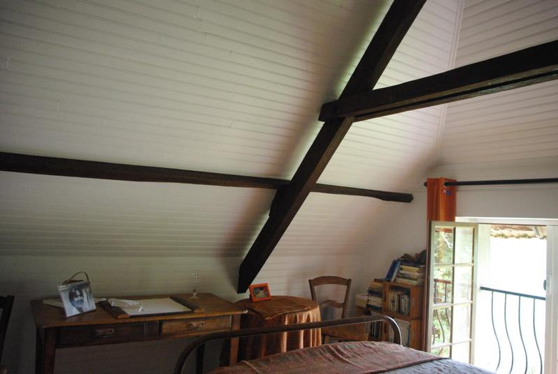 chambres en enfilade maison quercynoise typique avec bolet vendre latouille lentillac. Black Bedroom Furniture Sets. Home Design Ideas