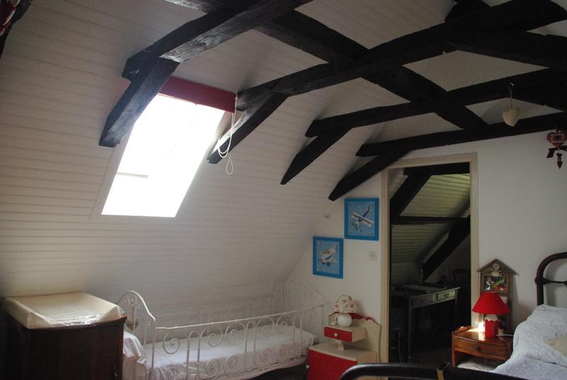 Chambres en enfilade maison quercynoise typique avec - Chambre en enfilade ...